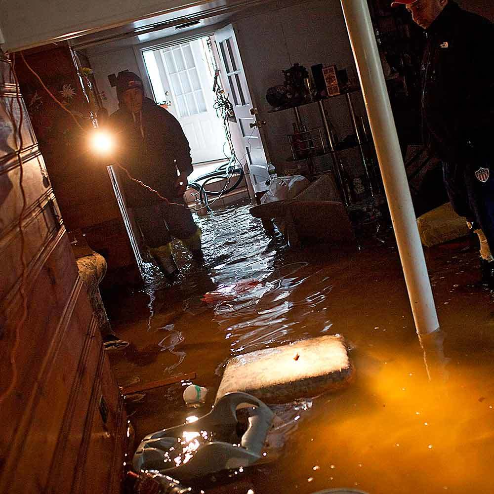 Can I Enter The House Before Flood Damage Clean Up Begins?