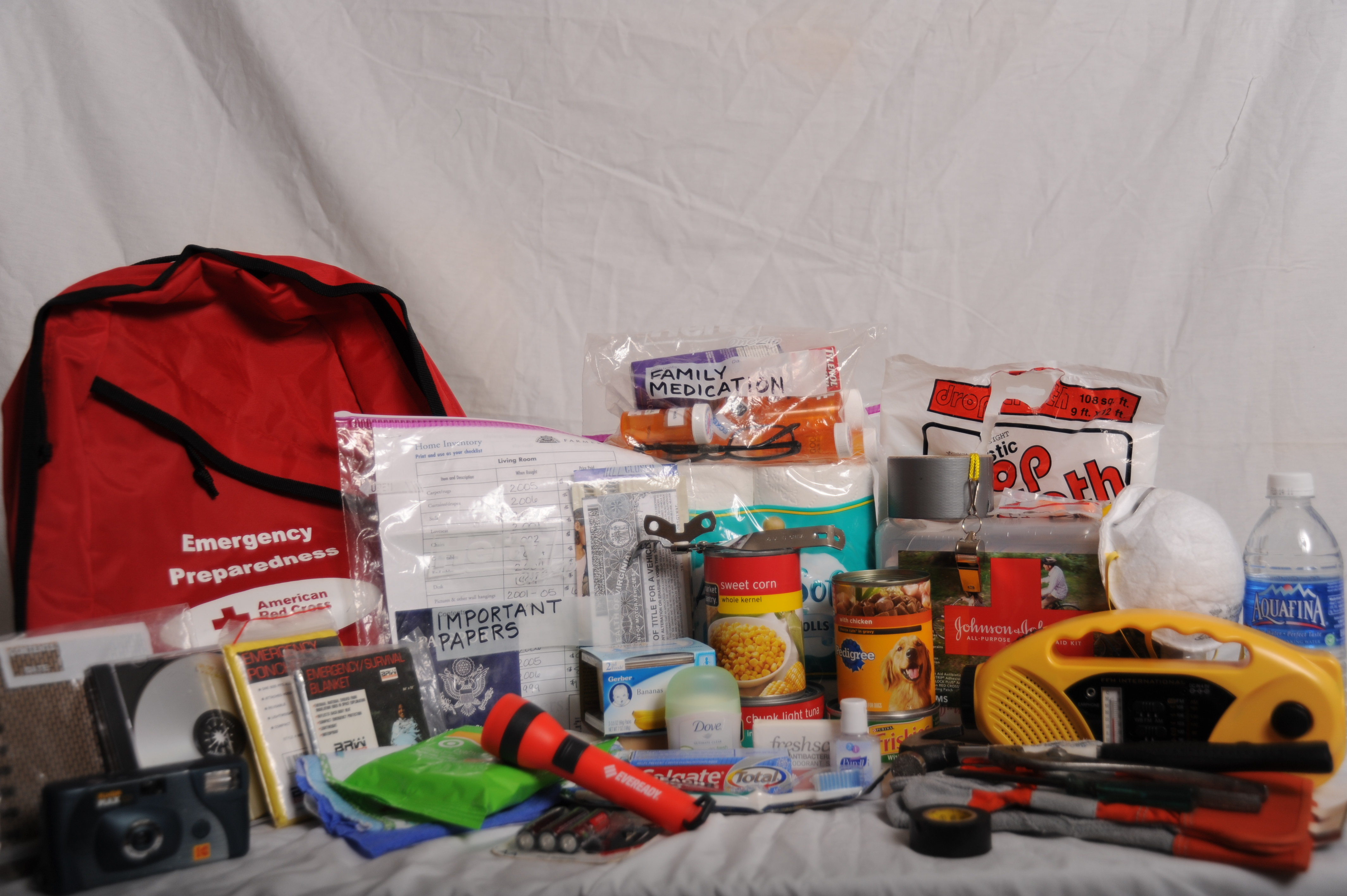 Hurricane Tornado Flood Disaster Preparation Kit